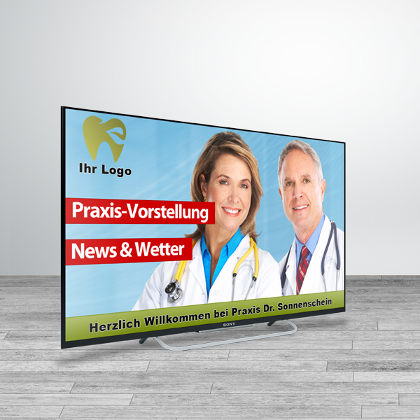 """Praxis-TV Premium 40"""""""