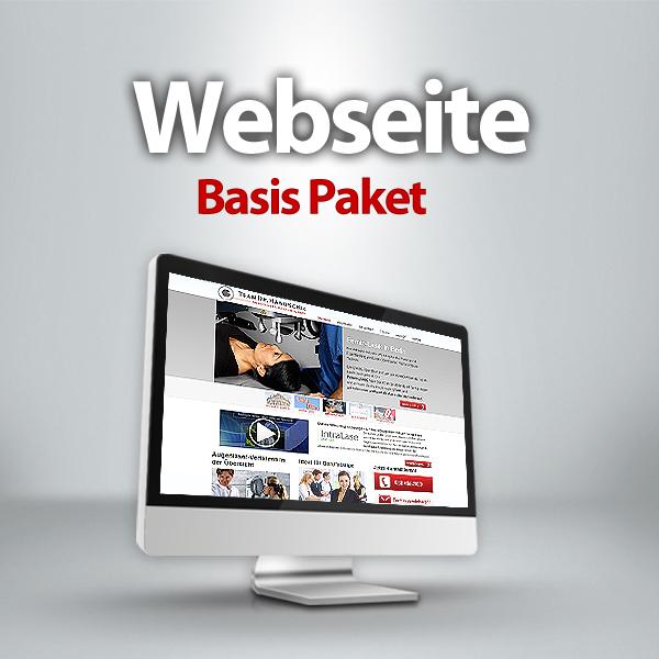 Website Basis Paket
